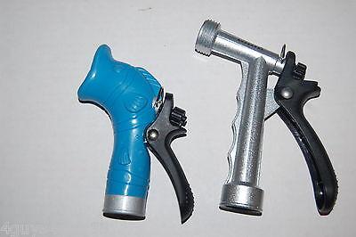 Hose Spray Nozzle >> 1 Animal Shaped Blue Fish Garden Hose Spray Nozzle 1 Metal Trigger Nozzle Silver Ebay