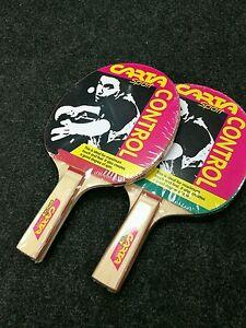 CS2 Éponge Caoutchouc Tennis de table chauve-souris x 2 IDEAL Starter Chauves-souris  </span>