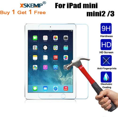 2Pcs Tempered Glass Screen Protector For iPad mini 5// iPad Air 3rd Gen 10.5 2019