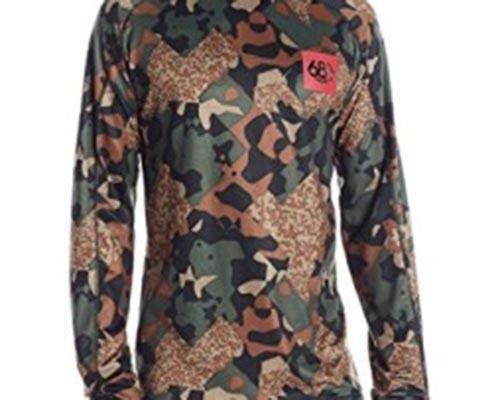 686 Frontier First Layer Top Shirt (L) Hunter Cubist Camo