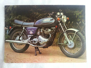 CPA-Carte-postale-Moto-Pilote-Norton-Commando-Interstate-750cc
