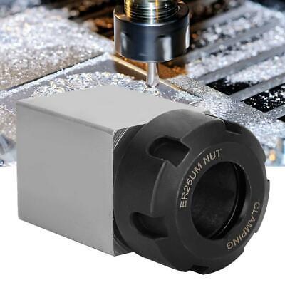 Hex ER-25 Collet Block Spring Chuck Collet Holder for Latch Engrave Machine 1pc