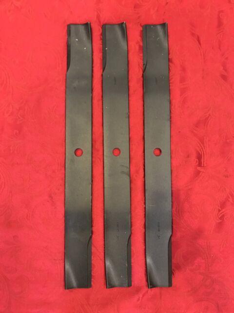 21547939 Hi Lift Mlching// Bagging Blades set of 3 Ariens 21547257