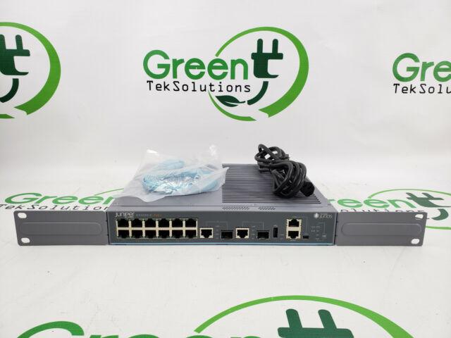 Juniper Networks EX2200-C-12P-2G EX 2200 12-Port PoE+ L3 Switch w/ Rack Mounts