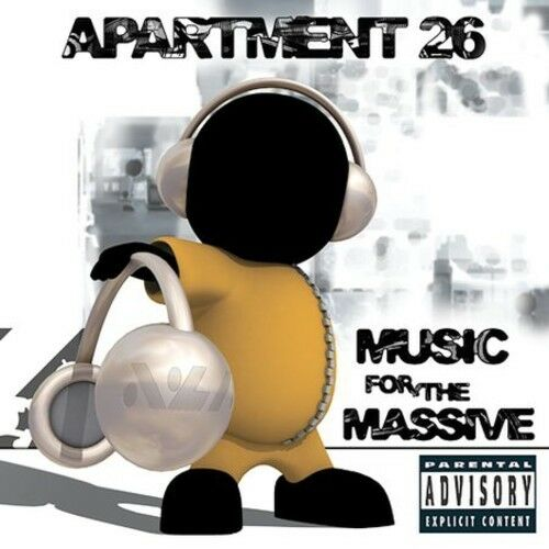 1 of 1 - Apartment 26 - Music for the Massive [New CD] Explicit, Manufactured On Demand,