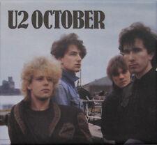 U2 – October ( Remastered )New 2CD