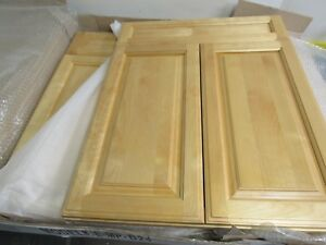 Details About Kitchen Bathroom Base Cabinet Doors Solid Wood Birch W Face Frame 24 X 30 Lot 2