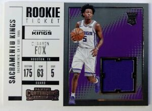 2017-18-Panini-Contenders-Rookie-Ticket-Swatches-De-039-Aaron-Fox-Rookie-RC-RTS-5