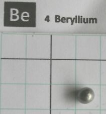 ~0,3 gram solid Beryllium Metal Pellet 99,95% - Pure element 4 sample