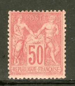 TIMBRE-N-104-NEUF-SANS-CHARNIERE-GOMME-ORIGINALE-COTE-525-EUROS-VALUE