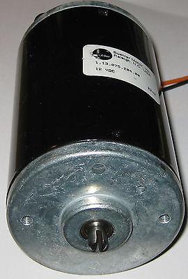 Buehler 12V DC Large Hobby Motor with Short Slotted Shaft - 200 Watt - 6000 RPM