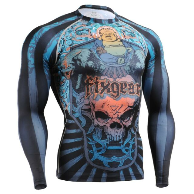 FIXGEAR CFL-74 Compression Base Layers Shirts Under Skin Tight Gym Training MMA