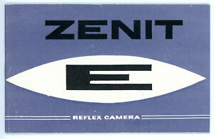 Kamera-Bedienungsanleitung-ZENIT-E-User-Manual-IN-ENGLISH-Y332