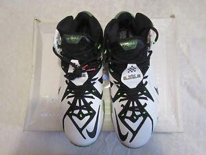 promo code 025c5 0eba6 Image is loading Nike-Lebron-XII-12-White-AS-All-Star-