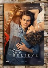 Custom I Still Believe 2020 Movie Poster 30 24x36 Art Silk X-660