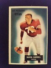 1955 Bowman Marion Campbell #94 Football Card
