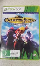 champion jockey G1 jockey & gallop racer xbox 360