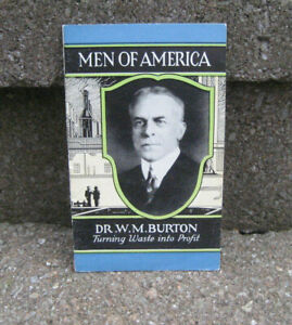1929 Men Of America #44....Dr. W.M. Burton
