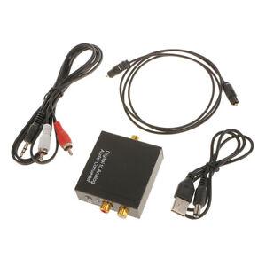 Digital-Coassiale-Toslink-Ottico-Analogico-L-R-Adattatore-Convertitore-Audio-RCA