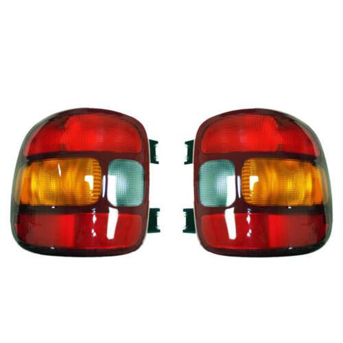 NEW PAIR OF TAIL LIGHTS FITS CHEVROLET SILVERADO 1500 STEPSIDE 1999-03 GM2800136