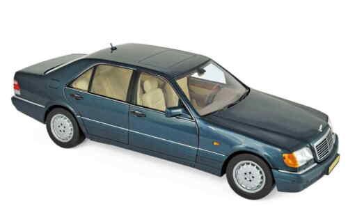 Norev 183593 mercedes benz s 600 1997 verde metalizado 1:18 nuevo//en el embalaje original