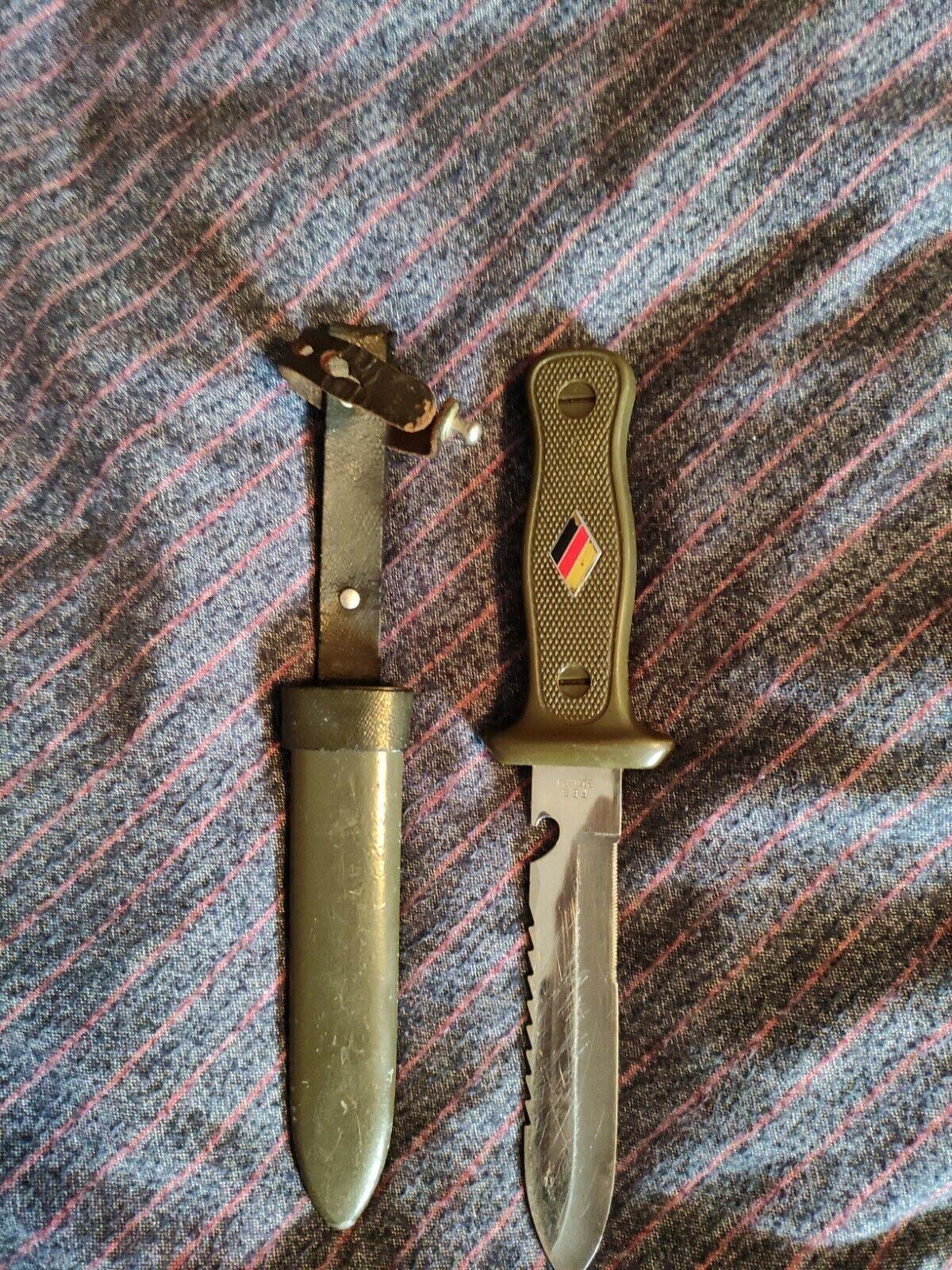 Bild 1 - altes Bundeswehr Messer
