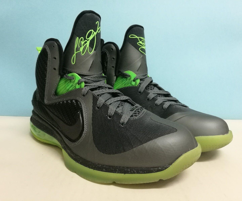Nike Lebron IX gris ++ DUNKMAN ++ sz 9 US 42.5 EU 469764 006 Jordan Kobe KD