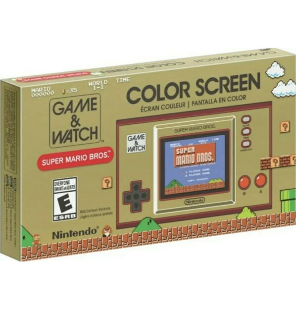 Nintendo® | Game and Watch: Super Mario Bros.™  2020 Handheld NEW Factory Sealed
