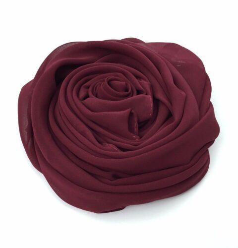 Top Quality *JERSEY* Maxi Plain Scarf Hijab Stretchy Sarong Wrap Shawl Big New
