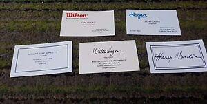 3 sets replica golf business cards ben hogan sam snead vardon b image is loading 3 sets replica golf business cards ben hogan colourmoves