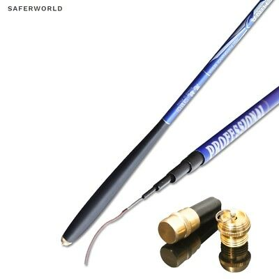 Carp Fish Fishing Rod Casting Section Telescopic Tips Carbon Pole Ultra Light XL