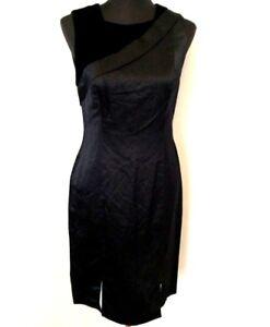 Image Is Loading Vera Lavender Label Sheath Dress Black Sleeveless