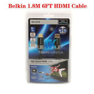 For-Belkin-1-8M-6FT-HDTV-High-Speed-HDMI-Cable-w-Ethernet-4K-Audio-Video-Cable