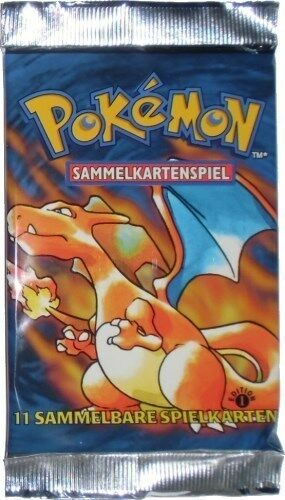 Pokemon Base Set Booster, Limited First Edition
