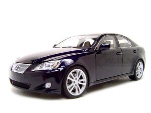 2006 lexus is 350 is350 blue 1 18 diecast car model by autoart 78811 ebay. Black Bedroom Furniture Sets. Home Design Ideas