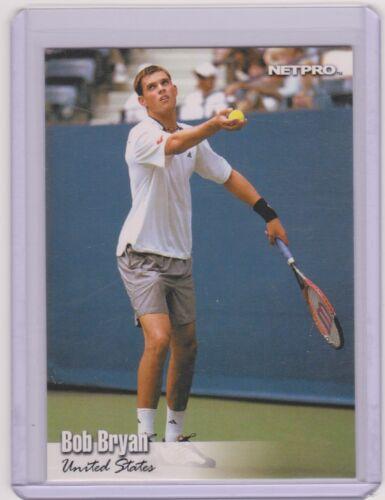 2003 NETPRO GLOSSY BOB BRYAN TENNIS CARD ~ MULTIPLES ~ UNITED STATES