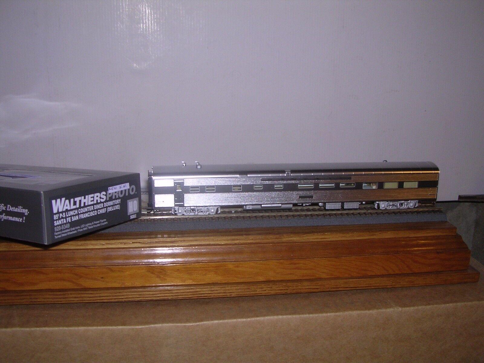 diseño único Walthers/Proto 920-9351 Santa Fe Fe Fe P.S. optimizada 85' 4-4-2 durmiente del 1/87  con 60% de descuento