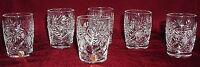 6 Russian Crystal Shotglasses Glasses. 1.7oz (50 Ml). 4319 3