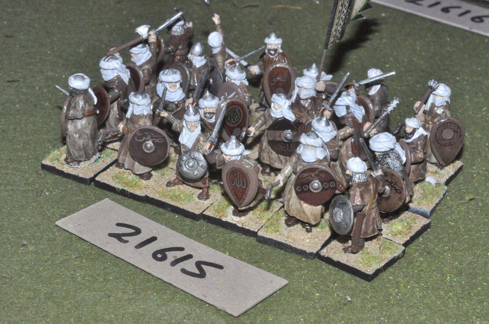 Médiévale 25 25 25 mm ESPAGNOL - 24 mauresque escrimeurs-INF (21615) b4f0d6