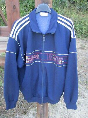 Veste ADIDAS vintage The Brand with 3 stripes TREFOIL jacket jacke 180 L D6 | eBay