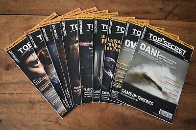 Lot De 10 Top Secret 71 A 80 Les Enigmes De L Histoire Et De La Science Sauquere Ebay