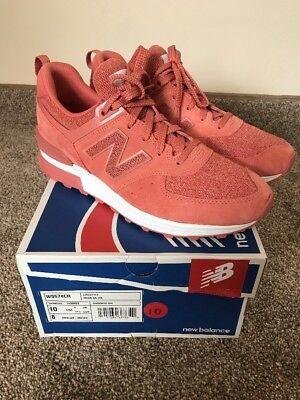 NIB Women's New Balance 574 Copper Rose Trainer Size 10 WS574CR   eBay
