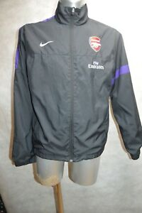 VESTE-FOOT-NIKE-ARSENAL-TAILLE-L-GIACCA-JACKET-CHAQUETA-GUNNER