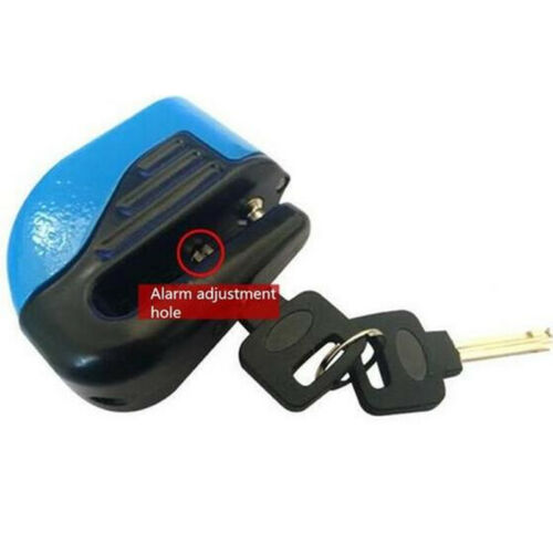 Practical Motorcycles Anti-theft Wheel Disc Brake Lock Alerting Reminder Cable