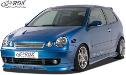 RDX Frontspoiler schwarz matt für VW Polo 9N