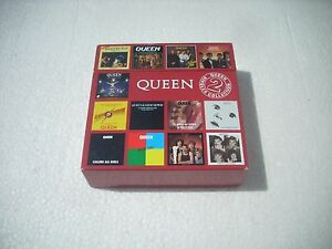 QUEEN-SINGLES-COLLECTION-2-BOX-opened-made-in-Europe-box-with-any-scratch