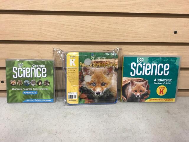 Harcourt Science Ser Science Grade K 2008 Cards Flash Cards For Sale Online EBay