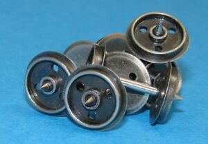 Dapol-WHEELS-DISC-20-x-Axle-Sets-3-Hole-12mm-Replacement-Wagon-Wheels-T48-Post
