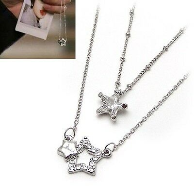 Korean Drama You're Beautiful rhinestone Star Necklace