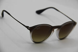 6ffcfe6e48 ray-ban rb 4243-f 6224 13 brown gradient authentic sunglasses 49-20